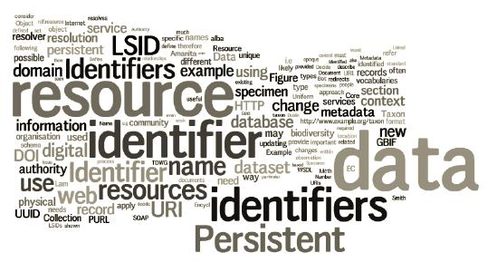 Training course on persistent identifiers