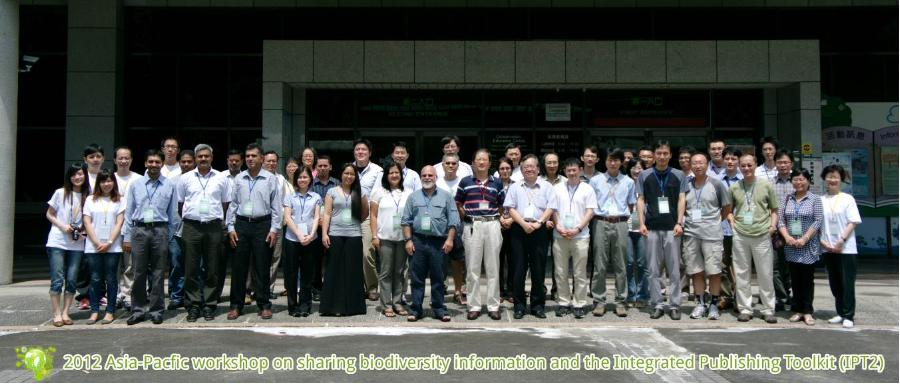 2012 Asia-Pacific workshop on sharing biodiversity information and the Integrated Publishing Toolkit (IPT2)