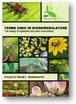 Terms Used in Bionomenclature. The naming of organisms (and plant communities)