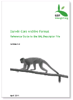 Darwin Core Archive Format, Reference Guide to the XML Descriptor File