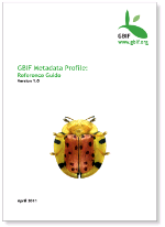 GBIF Metadata Profile, Reference Guide