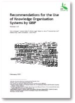 Recommendations for the Use of Knowledge Organisation Systems by GBIF