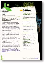 GBits newsletter no. 29