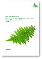 Best practice guide for compiling, maintaining, disseminating national species checklists