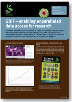 Poster: GBIF - enabling unparalleled data access for research