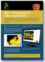 Poster: GBIF - serving data for online applications