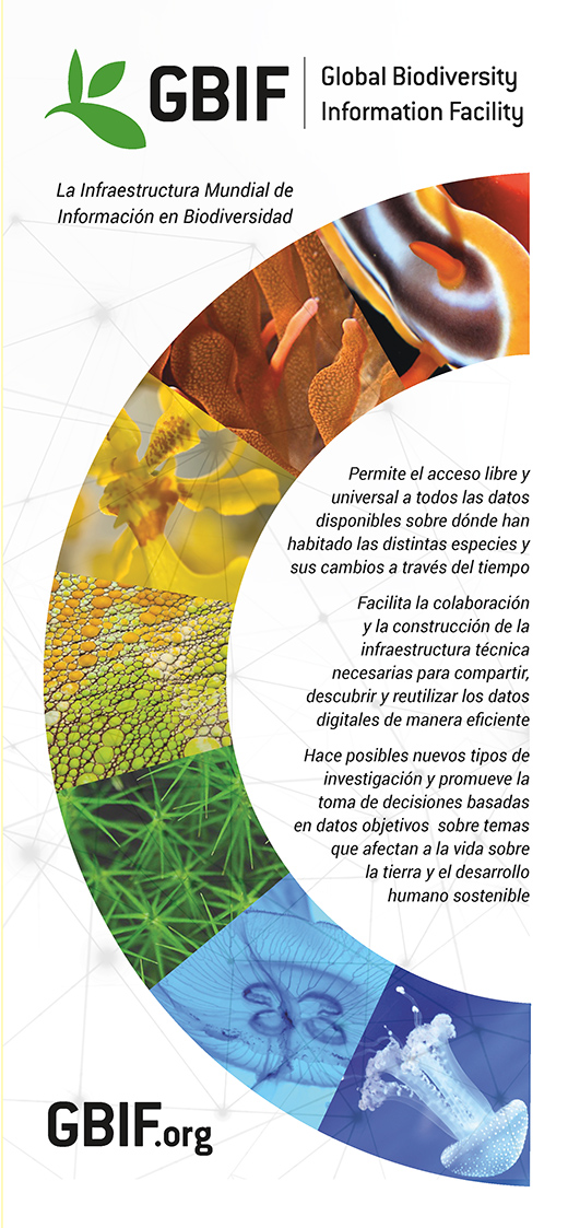 GBIF brochure, 2016 edition - Spanish