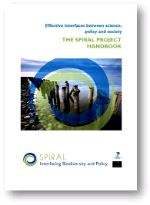 Effective interfaces between science, policy and society: the SPIRAL project handbook