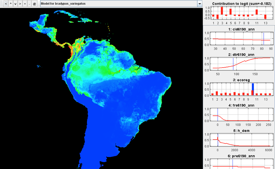 Maxent software for modeling species niches and distributions