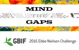 2016 GBIF Ebbe Nielsen Challenge: Mind the gaps