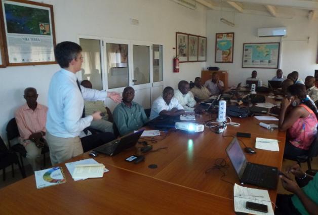 GBIF Portugal seminar in Guinee-Bissau