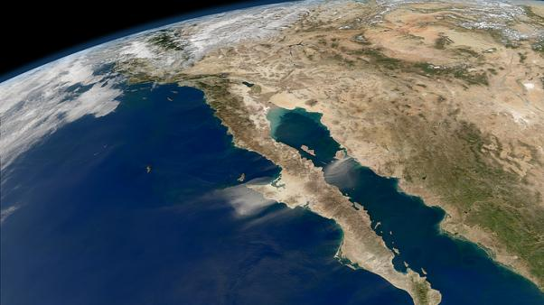 Gulf of California. NASA's Earth Observatory. CC BY 2.0
