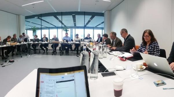 Names in November meeting, Leiden, Netherlands