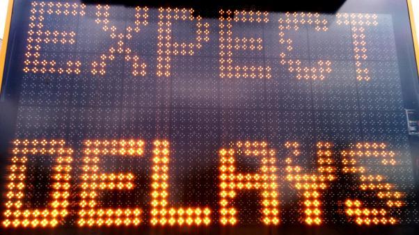 Illuminated road traffic warning sign. Photo 2013 Neerav Bhatt